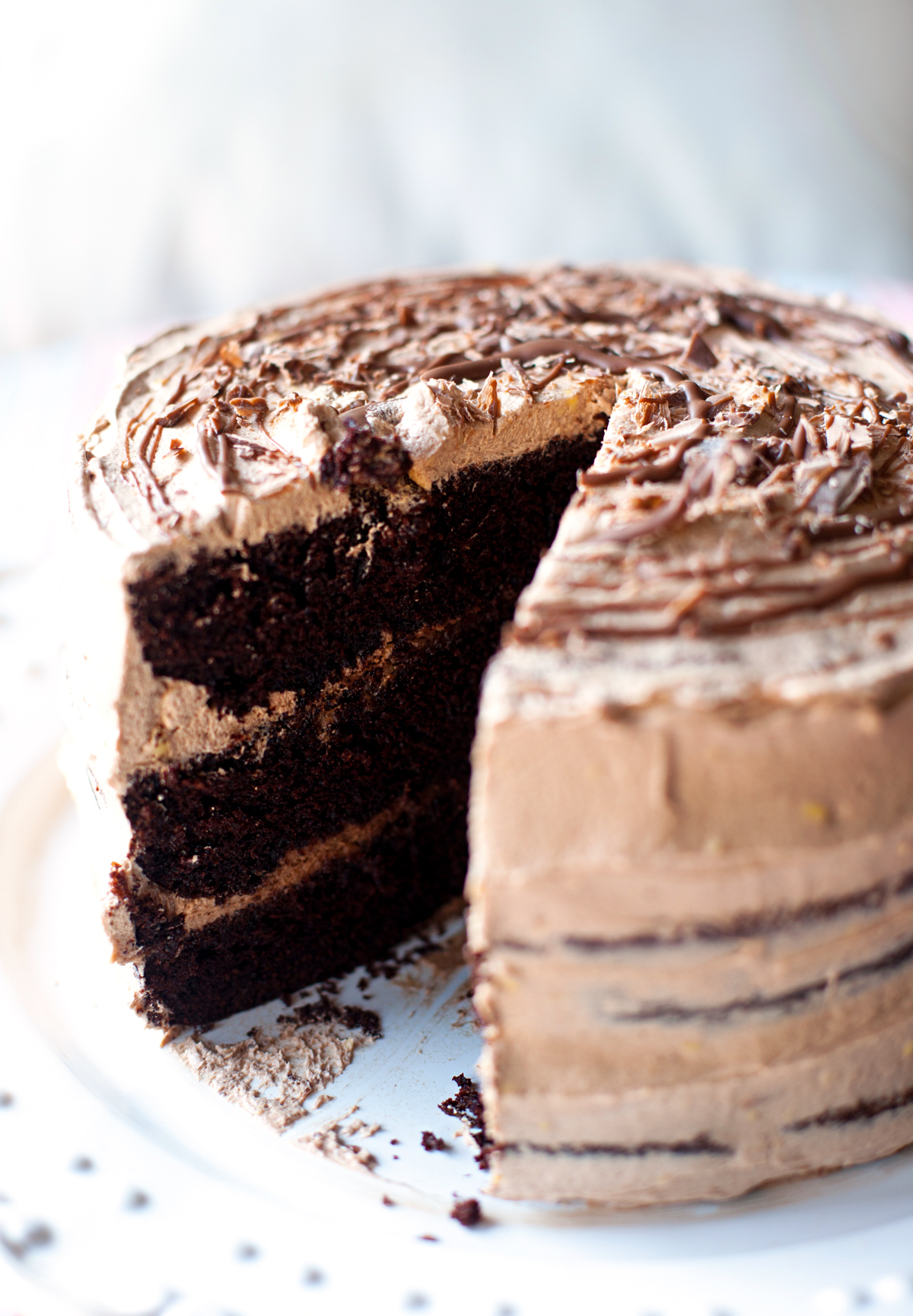 Chocolate Cake - Moist, Rich and Easy to Make