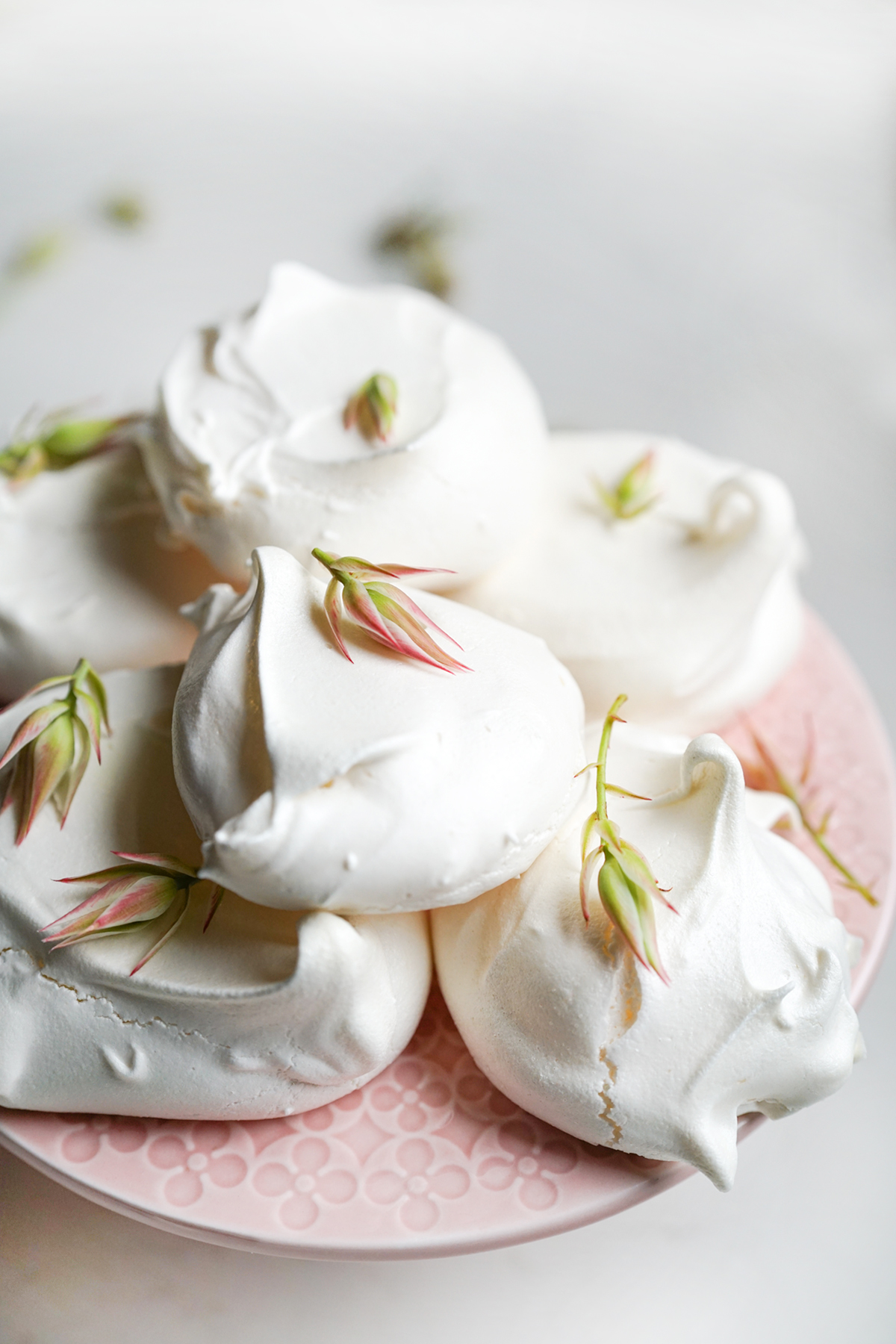 rustic meringues made with easy recipe for perfect meringues