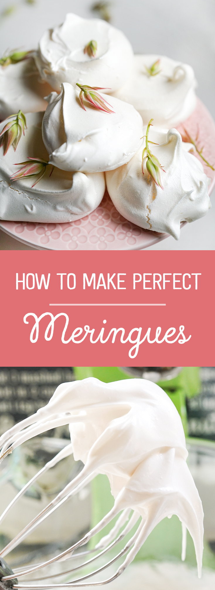 learn how to make perfect meringues