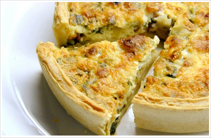 Paula Deen's Sausage Quiche Recipe - Recipes for Paula Deen's