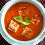 Roasted Tomato and Basil Soup Recipe
