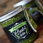 asil Pesto Recipe Gift Labels