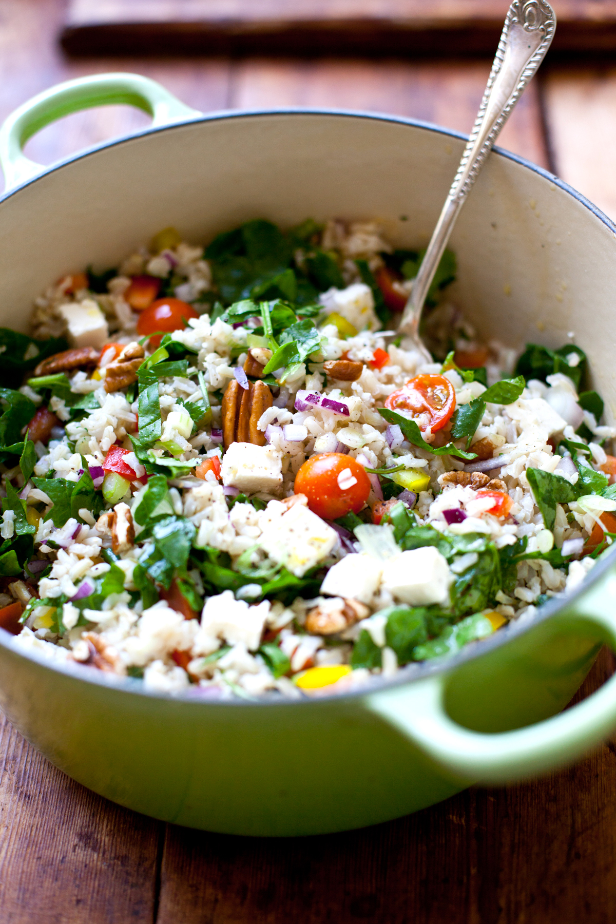 Healthy Brown Rice Salad-9155