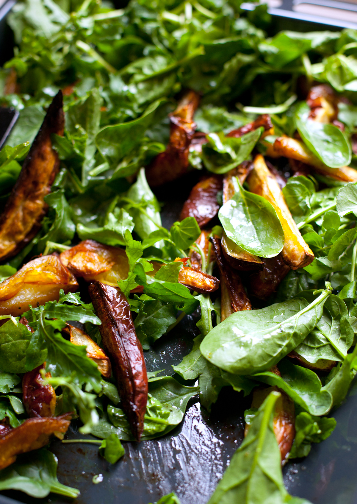 Sweet Potato Salad with Sour Cream and Coriander Dressing