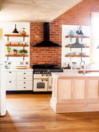 Our Contemporary Farmhouse Kitchen – A Tour