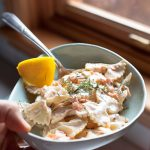 Smoked Salmon Lemon and Dill Creamy Pasta