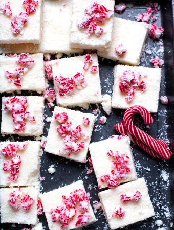 Candy Cane Coconut Ice - Perfect for Christmas DIY Gifts
