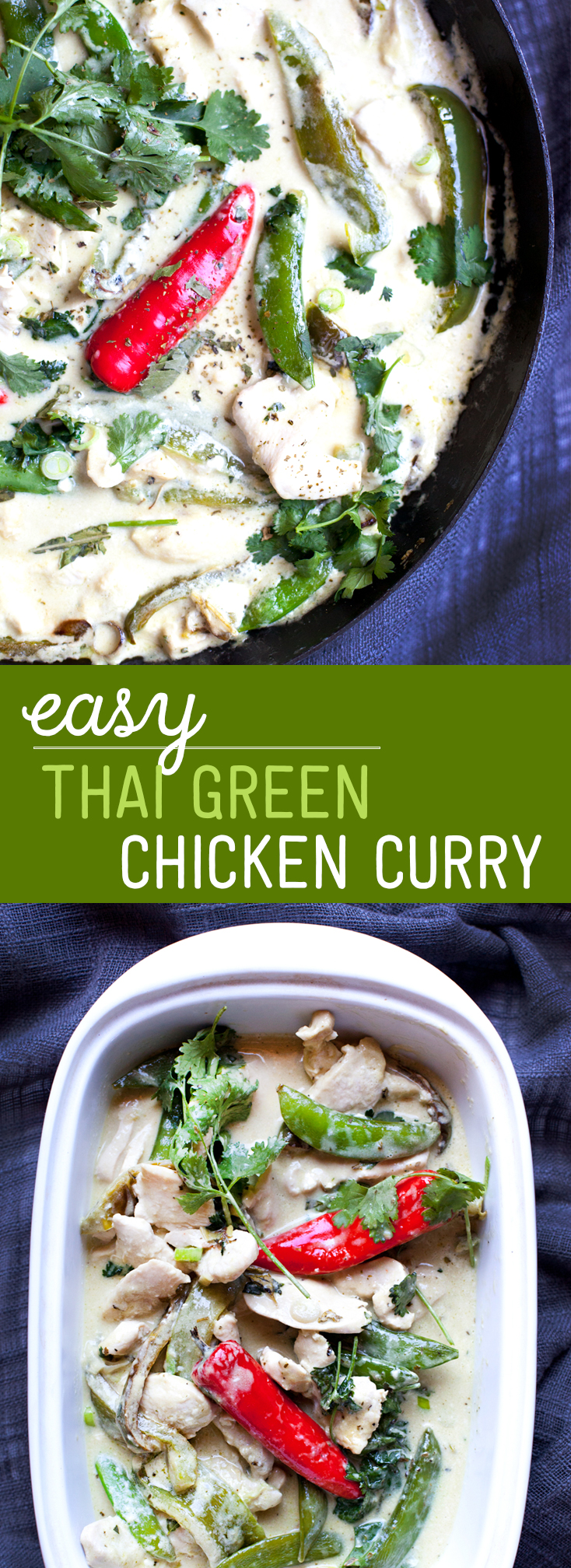 Easy Thai Green Chicken Curry - Make it in 20 Minutes