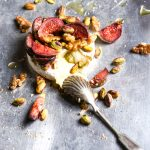 Baked Camembert and Fig Party Food Recipe