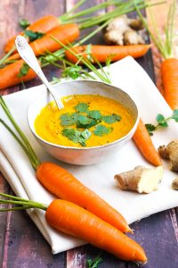 Roasted Carrot and Ginger Soup