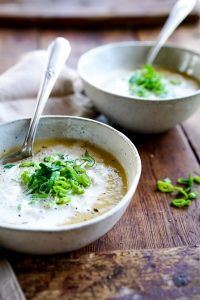 Easy Leek and Potato Soup