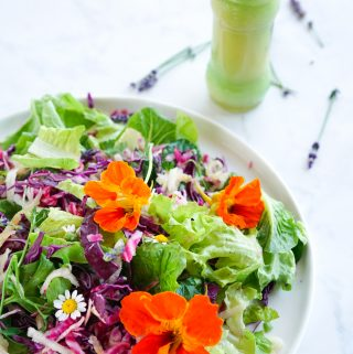 A beetroot salad with a delicious honey and mustard dressing