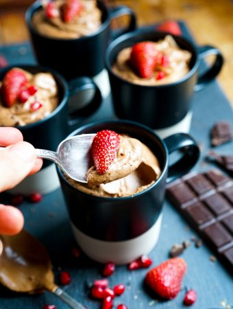 Easy Eggless Chocolate Mousse