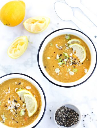 Red Lentil and Lemon Soup