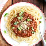 Delicious Vegan Spaghetti Bolognaise recipe